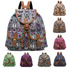 Fashion Vintage Canvas Travel Rucksack Hobo School Bag Satchel Bookbag Backpack