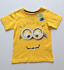 Official Childrens Despicable Me MINIONS Boys & Girls T Shirt from Primark