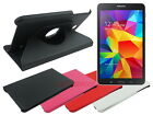 Swivel Leather Folding Case for Samsung Galaxy Tab 4 8.0