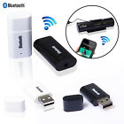 3.5mm AUX Bluetooth Wireless Stereo Audio Receiver Music Dongle for iPhone Car