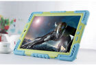 3 in 1 Waterproof shockproof Dustproof Kids Safe Stand back Case Cover For iPad