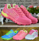 Womens Ladies Contrast Color Lace Up Sneakers Trainers Running Shoes G1438-43