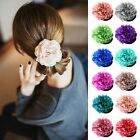 New Korea Woman Lady Sweet Peony Flower Hair Clip Hairpin Brooch hair accessory