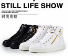 2014 NEW Help couples High Top Velcro Fashion Hip-hop Sneakers Lovers Shoes !!