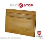 RFID Blocking Slim Mini Wallet Sleeve Paypass Oyster Credit Debit Card shield