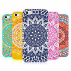HEAD CASE MANDALA TPU GEL BACK CASE COVER FOR APPLE iPHONE 5S