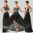 VINTAGE Formal Long Bridesmaid Wedding Gown Evening Prom HOMECOMING RETRO Dress