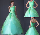 Long Formal Prom Party Evening Pageant Wedding Dress Quinceaneara Ball Gowns