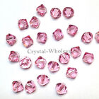 4mm Light Rose (223) Genuine Swarovski crystal 5328 / 5301 Loose Bicone Beads