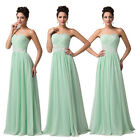 Chiffon+Satin Evening Formal Ball gown Party Pageant Bridesmaid Prom Dresses GK