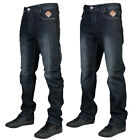 NEW MENS KAM JEANS ETON DENIM STRAIGHT LEG FADED JEANS BOTTOMS ALL WAIST SIZES