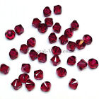 3mm Ruby (501) Genuine Swarovski crystal 5328 / 5301 Loose Bicone Beads