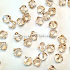 3mm Silk (391) Genuine Swarovski crystal 5328 / 5301 Loose Bicone Beads