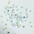 3mm White Opal AB (234 AB) Swarovski crystal 5328 / 5301 Loose Bicone Beads