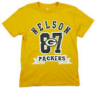NFL Football  Kids / Youth Green Bay Packers Jordy Nelson #87 T-Shirt - Gold