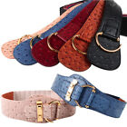 New Lady's Genuine Leather Elastic Belt Decorate Unique Belts Free Shipping IR43