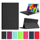 Super Slim Bluetooth Keyboard Leather Case Cover for Samsung Galaxy Tab S 8.4""