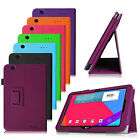 For LG G Pad 10.1 V700 10.1-inch Tablet Folio Leather Case Cover Auto Wake/Sleep