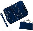 Jewelry Organizer Case Travel Bag Pouch for Earring Rings & Necklaces