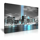 NEW YORK CITY Manhattan 1 WTC Skyline Canvas Framed Print - More Size