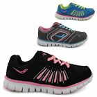 NEW LADIES RUNNING CASUAL LACE UP GYM WALKING WOMENS TRAINERS SHOES UK SIZE 3-8