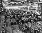 1940s P39 Fighter Plane Factory Buffalo NY Airocobra Photo USAF