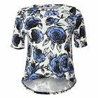 Blue Inc Woman Womens Blue Floral Top