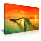 SEASCAPE 88 Canvas Framed Printed Wall Art ~ More Size
