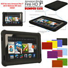 """Shock Protective Tough Rugged Rubber BUMPER Case for Amazon Kindle Fire HD 7"""""""