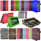 """Smart Stand PU Leather Case Cover Sleep Wake For Amazon Kindle Fire HD 7"""" 7 inch"""