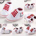 HOT Infant Toddler Baby Boy Girl Soft Sole Crib Shoes Sneaker Newborn 0-18Months