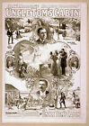 Photo Print Vintage Poster: Stage Theatre Turn Of Century Uncle Toms Cabin 06