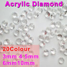 Acrylic Diamond Wedding Party Table Decoration Scatter Crystal Sparkle Confetti