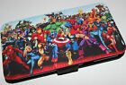 samsung galaxy s3 note 2 marvel Characters spiderman hulk PU leather flip case
