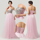 Long Formal Evening Dress Bridesmaid Prom Party Gown Banquet Dress Masquerade GK