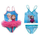 Girls Frozen Elsa Anna Swimwear Swimsuit 3-10Y Kids Bikini Tankini Bathing Suit