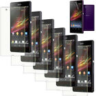 6/3/1x Clear/Matte LCD Screen Protector Film Guard For Sony Xperia Z L36h C6603
