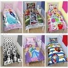 Disney and Character Single Duvet Covers - Kids Childrens Bedding Sets - New