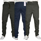 Mens Dean 602 Humor New Trendy Tapered Leg Chinos Jeans Trousers Size 32 34 36