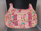 WOMANS PAISLEY PRINT SOFT QUILTED 2 ZIPPER COMPARTMENT POCKET BOOK HAND BAG GIFT