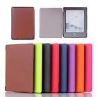"Custer Voltage Style PU Leather Folio Smart Case Cover For 6"" Amazon Kindle 4 5"