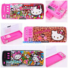 SANRIO KITTY X TOKIDOKI MX MAGIC MUTI-FUNCTION PENCIL CASE PINK/BLACK 602741