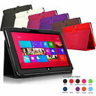 "Stand Fold PU Leather Case Cover Holder For Microsoft Surface RT 2 10.6"" Win8"