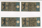 GERMAN BERLINER BEAR NOTGELD 09.9.1921 50 PFG