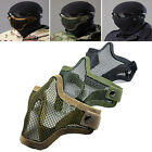 Half Face Metal Steel Net Mesh Hunting Tactical Protective Airsoft Mask Stylish