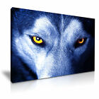 NEW ANIMAL Wolf 7 Canvas Framed Printed Wall Art ~ More Size