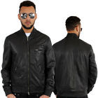 Aviatrix Raw Style Flight Bomber Genuine Leather Jacket Is Black Money Time