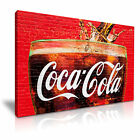 COCA COLA Canvas Framed Print Restaurant Deco - More Size