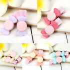 Pair Girls Baby Kids Resin Hairpin Hair Clips Hair Accessories Lovely Candy Bows