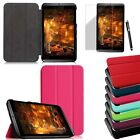 """For 2014 NVIDIA Shield 2 8"""" Tablet Slim Smart Leather Case Stand Cover Protector"""